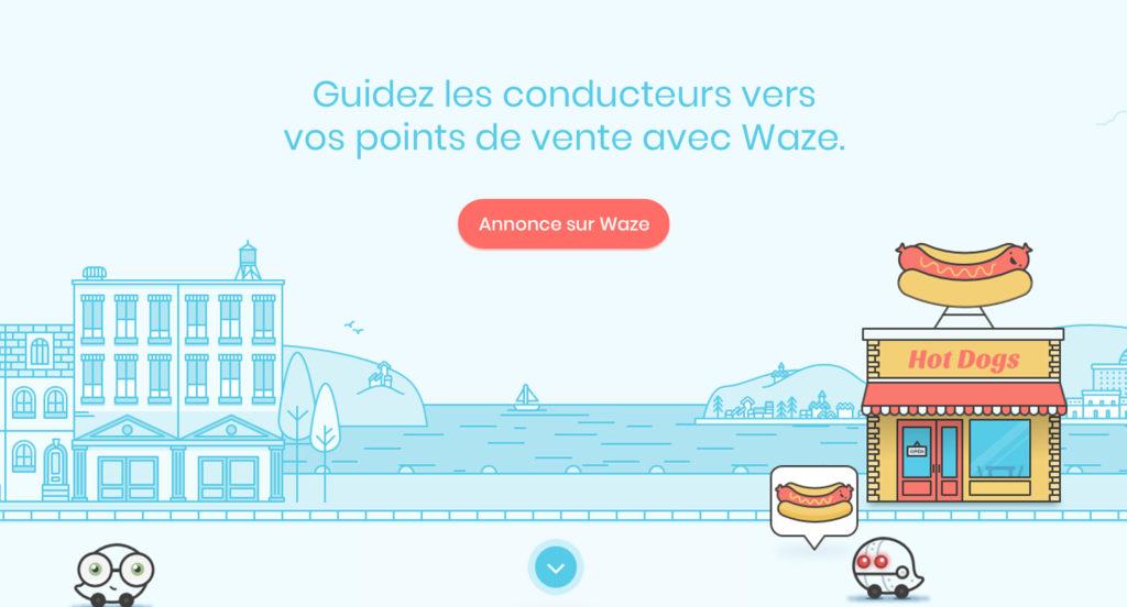 Guidez les conducteurs vers vos points de vente avec  Waze